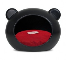 Guisapet-Pet-Cave-For-Cats-Dogs-Medium-Dog-Bed-Black-With-Red-Cushion-0-234x212