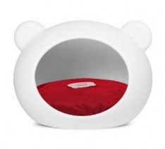 Guisapet-Pet-Cave-For-Cats-Dogs-Medium-Dog-Bed-White-With-Red-Cushion-0-234x212