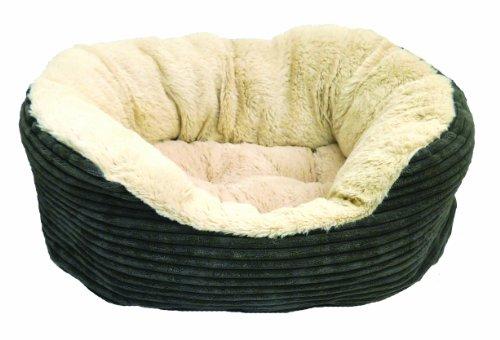 Rosewood-Jumbo-Cord-Plush-Dog-Bed-0-1