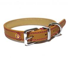Rosewood-Luxury-Leather-Dog-Collar-10-14-inch-Tan-0-234x212