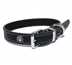 Rosewood-Luxury-Leather-Dog-Collar-14-18-inch-Black-0-234x212