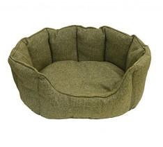 Rosewood-Tweed-Dog-Bed-24-inch-Green-0-234x212